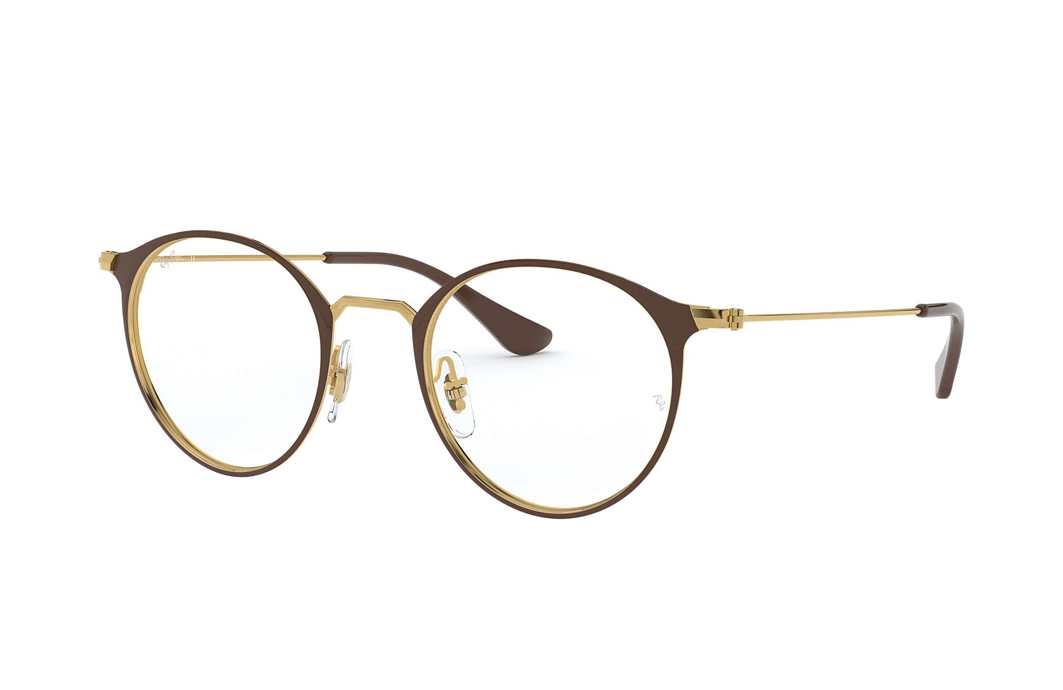 6c2306531658c Óculos de grau Ray-Ban RB6378 Marrom - Metal - 0RX6378290549