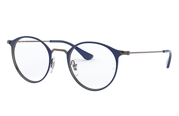 336a14442e8 Ray-Ban prescription glasses RB6378 Blue - Metal - 0RX6378290647 ...