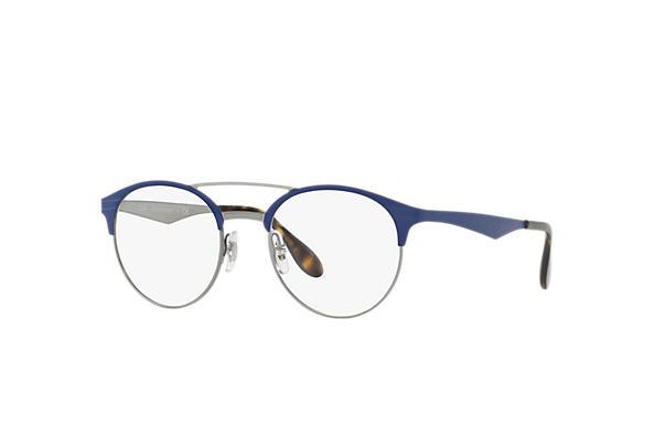 Óculos de grau Ray-Ban RB3545V Azul - Metal - 0RX3545V300651   Ray ... 8f13f31fe4
