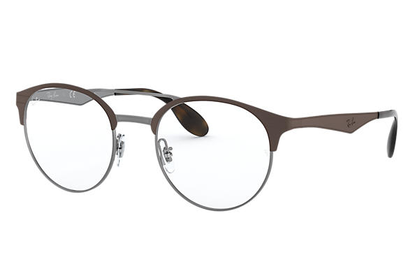 Ray-Ban		 0RX3545V-RB3545V Bruin,Staalgrijs OPTICAL