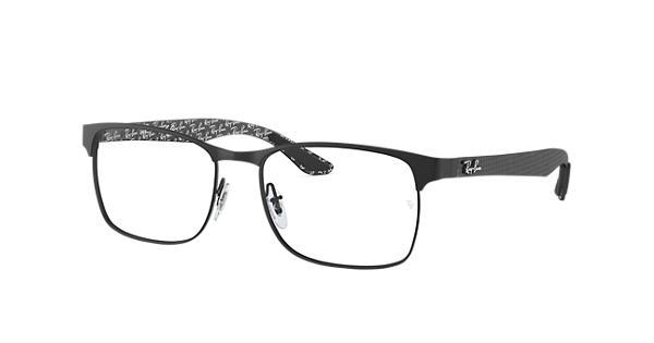 83a5141ae0 Ray-Ban prescription glasses RB8416 Black - Carbon Fibre - 0RX8416250353