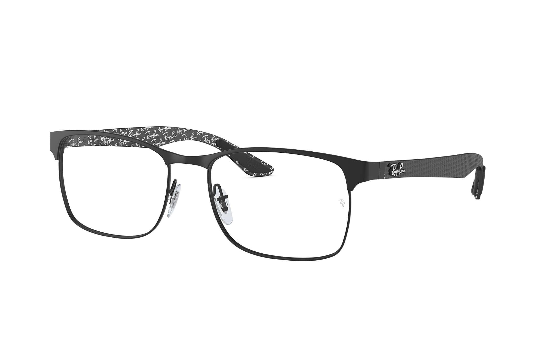 561e080a076d0 Ray-Ban prescription glasses RB8416 Black - Carbon Fibre ...