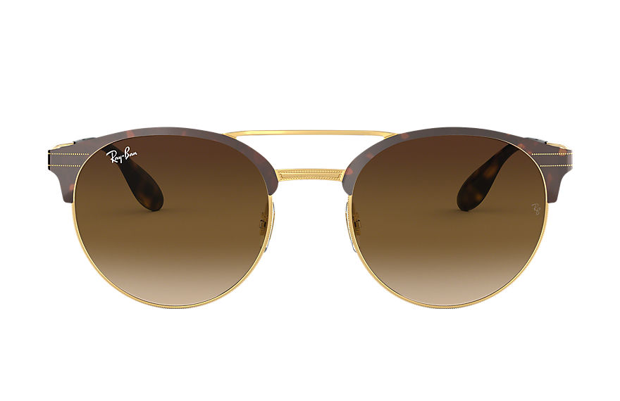 Ray-Ban Sunglasses RB3545 Tortoise with Brown Gradient lens