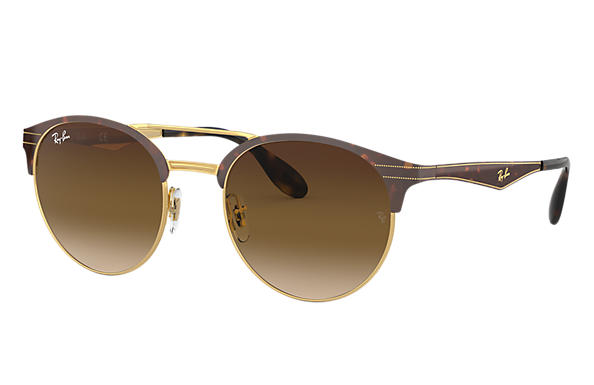 Ray-Ban 0RB3545-RB3545 Tortoise,Gold SUN