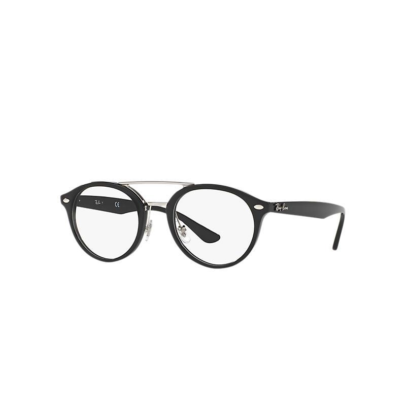 Image of Ray-Ban Black Eyeglasses - Rb5354