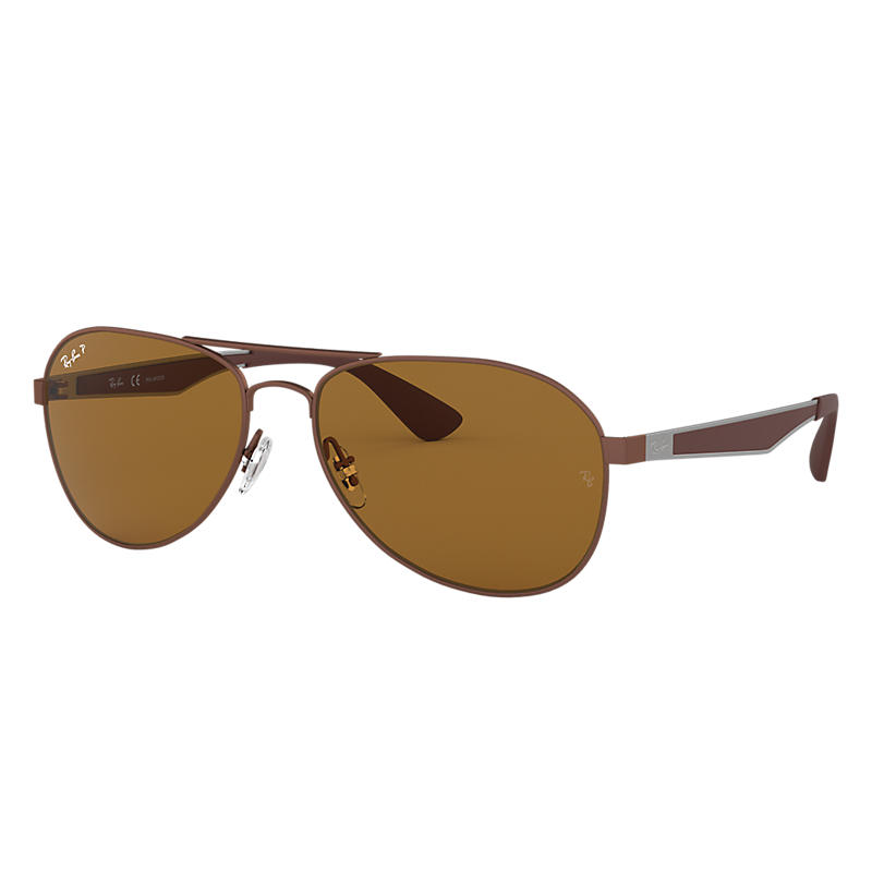 7dfc27c221a Ray Ban Rb3549 Man Sunglasses Lenses  Brown Polarized