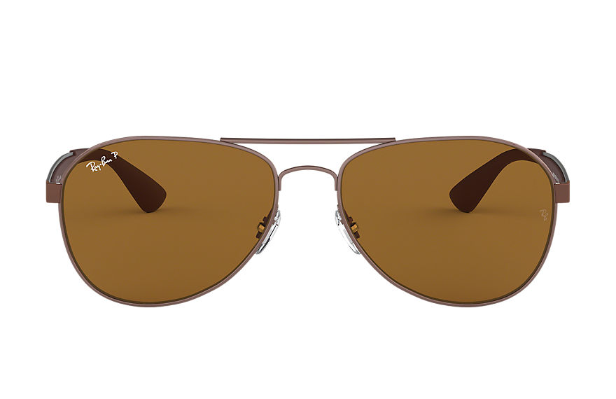 Ray-Ban  gafas de sol RB3549 MALE 001 rb3549 marrón 8053672671063