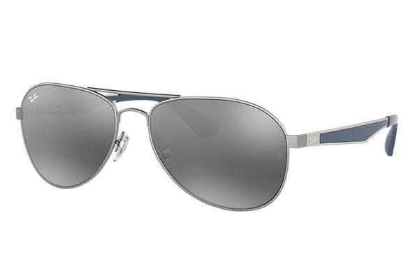 Ray-Ban 0RB3549-RB3549 Gunmetal; Blue,Gunmetal SUN
