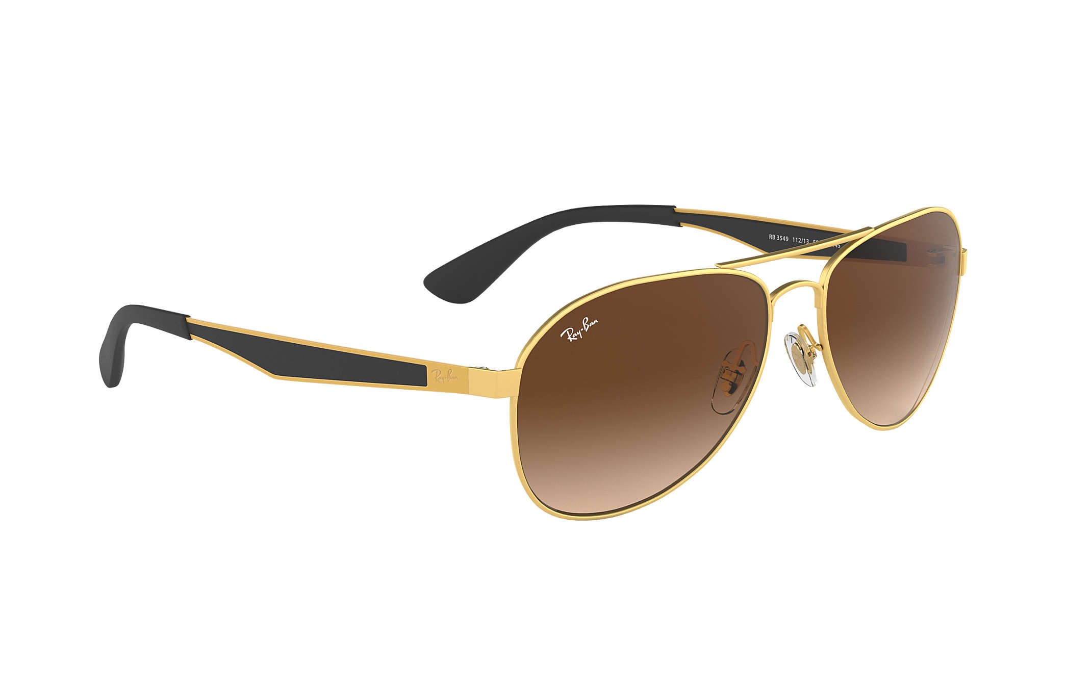 f5c38e6670dff Ray-Ban RB3549 Gold - Metal - Brown Lenses - 0RB3549112 1361