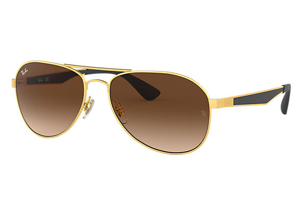 Ray-Ban 0RB3549-RB3549 Gold; Schwarz,Gold SUN