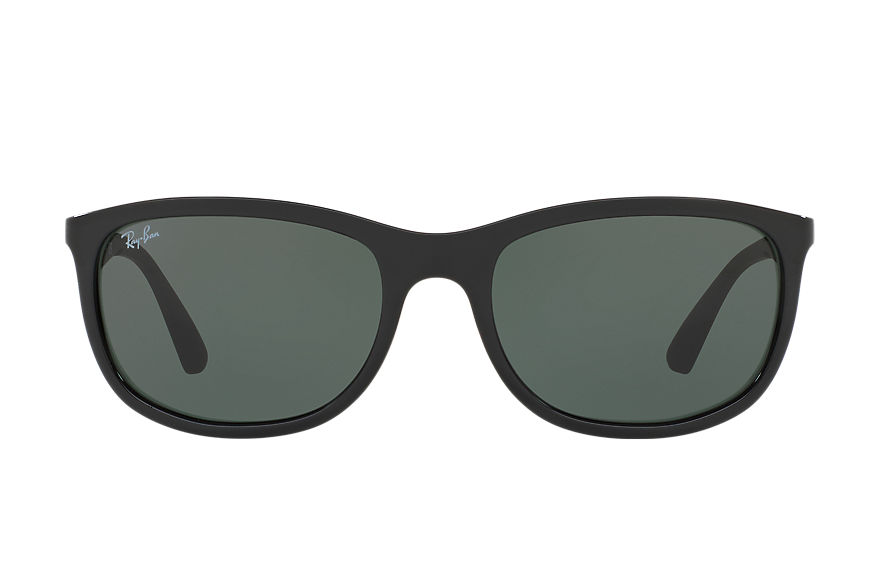 Ray-Ban Sunglasses RB4267 Black with Green Classic lens