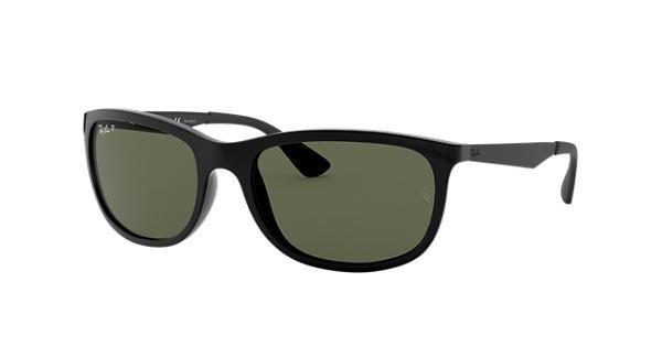 88e0da7f00e Ray-Ban RB4267 Black - Nylon - Green Polarized Lenses - 0RB4267601 9A59