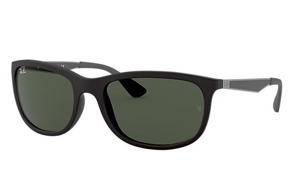 45c140793f5 Ray-Ban RB4267 Black - Nylon - Green Lenses - 0RB4267601S7159
