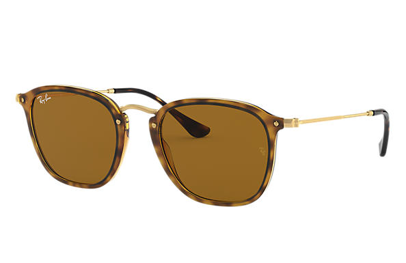 Ray-Ban		 0RB2448N-RB2448N Havane; Or SUN