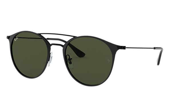 Ray-Ban Sunglasses RB3546 Black with Green Classic G-15 lens