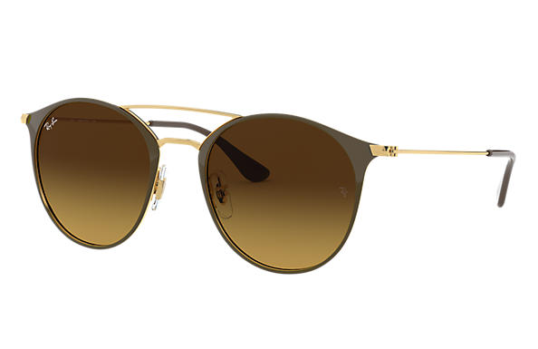 Ray-Ban 0RB3546-RB3546 Brown,Gold; Gold,Brown SUN