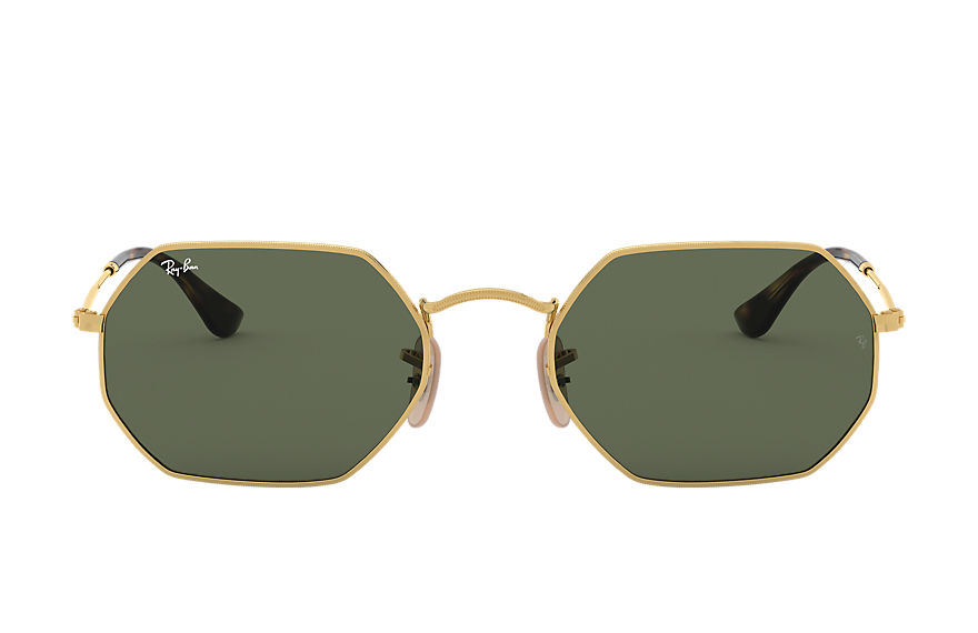Ray-Ban  sunglasses RB3556N UNISEX 002 octagonal classic polished gold 8053672672725