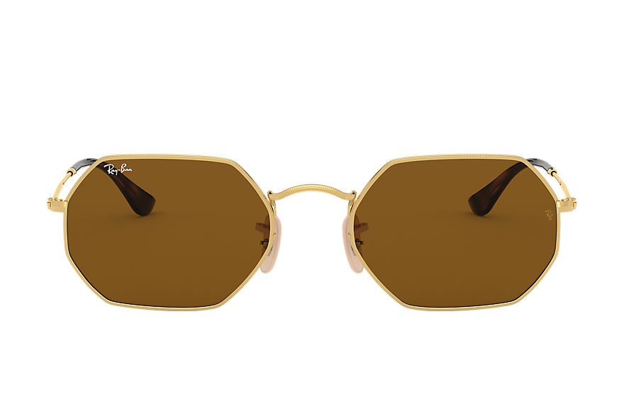 Ray-Ban  sunglasses RB3556N UNISEX 003 octagonal classic gold 8053672672732