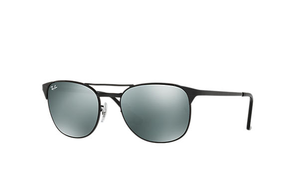 793a26fb85 Ray-Ban Signet RB3429M Black - Metal - Silver Lenses - 0RB3429M002 ...