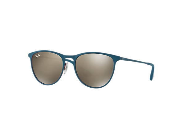 ray ban erika metal gold