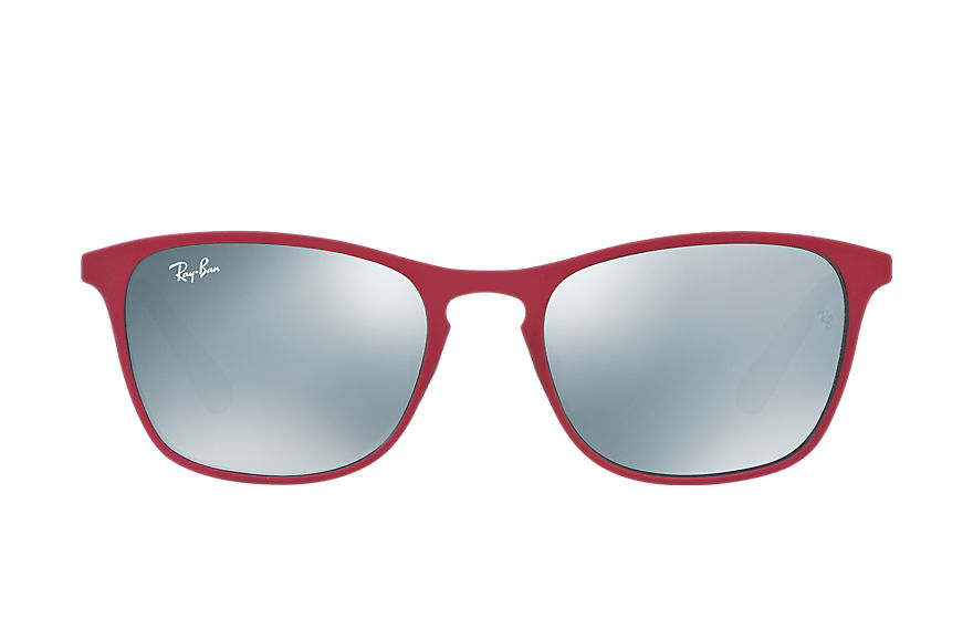 Ray-Ban RJ9539S Purple-Reddish with Silver Mirror lens