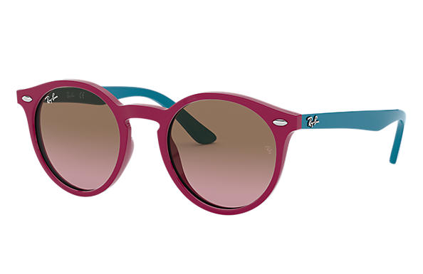 Ray-Ban Sunglasses RJ9064S Purple-Reddish with Violet/Brown Gradient lens