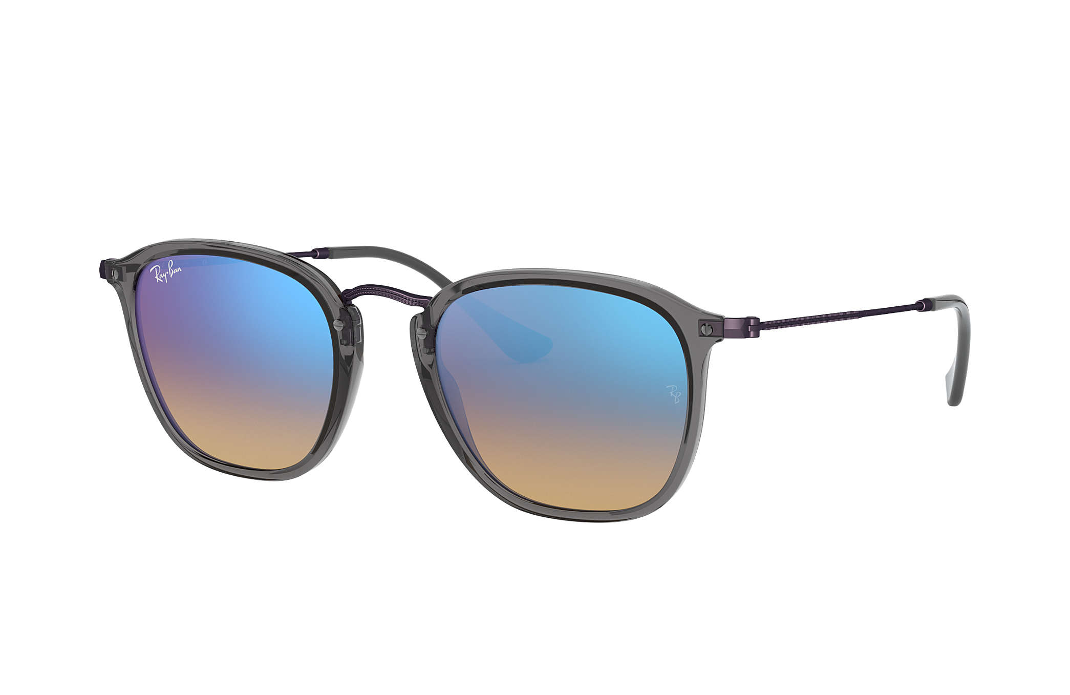 c85f94ae43 Ray-Ban RB2448N Grey - Acetate - Blue Lenses - 0RB2448N62554O51 ...
