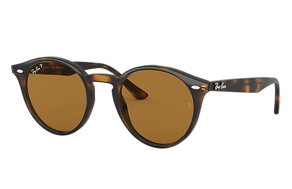 Ray-Ban 0RB2180F-RB2180 LOW BRIDGE FIT Tortoise SUN