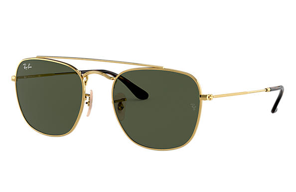 Ray-Ban 0RB3557-RB3557 Gold SUN
