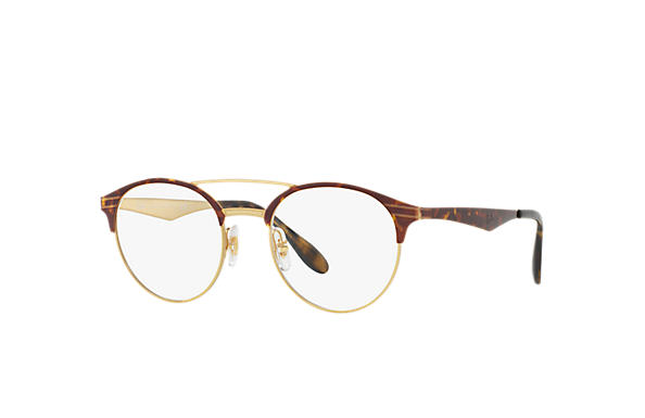 Ray-Ban 0RX3545V-RB3545V Gold,Tortoise; Tortoise OPTICAL