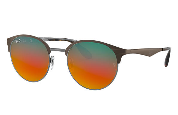 Ray-Ban 0RB3545-RB3545 Marron,Gun SUN