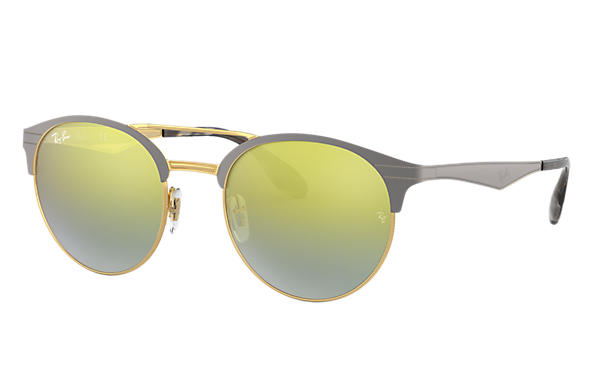 Ray-Ban 0RB3545-RB3545 Grey,Gold SUN