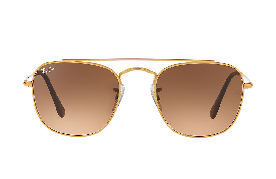 Ray-Ban Sunglasses RB3557 Bronze-Copper with Pink/Brown Gradient lens