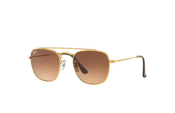 431c24f5d7 Ray-Ban RB3557 Bronze-Copper - Metal - Pink Brown Lenses ...