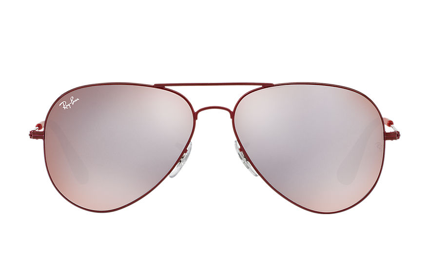 Ray-Ban Sunglasses RB3558 Bordeaux with Pink/Silver Mirror lens