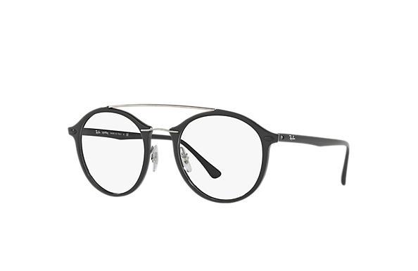 3bdca9e03e944 Ray-Ban eyeglasses RB7111 Black - LightRay Titanium - 0RX7111200051 ...