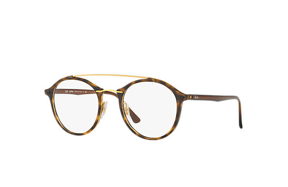 Ray-Ban 0RX7111-RB7111 Tortoise,Gold; Brown OPTICAL