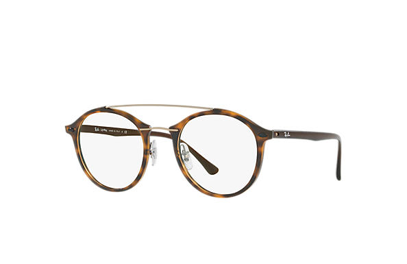 Ray-Ban 0RX7111-RB7111 Tortoise; Tortoise,Brown OPTICAL