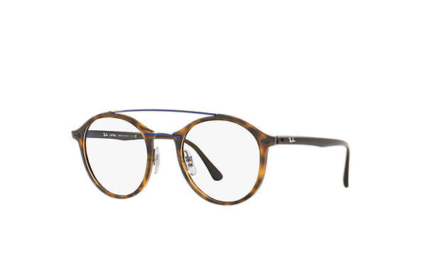Ray-Ban 0RX7111-RB7111 Tortoise; Brown OPTICAL