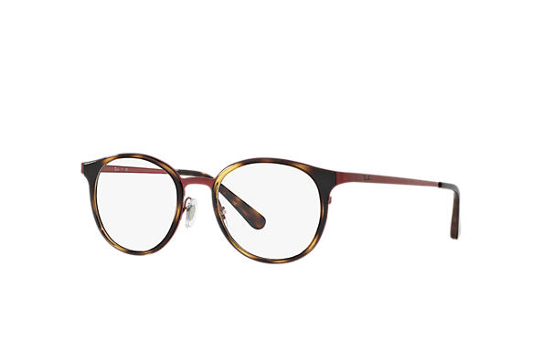 afe6cebe4b Ray-Ban prescription glasses RB6372M Tortoise - Metal ...