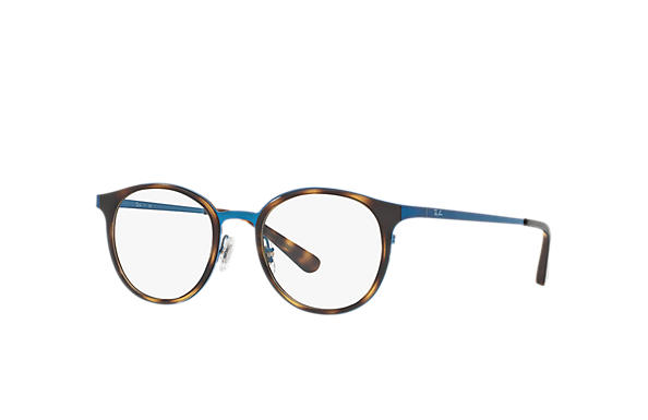 Ray-Ban 0RX6372M-RB6372M Tortoise; Blue OPTICAL