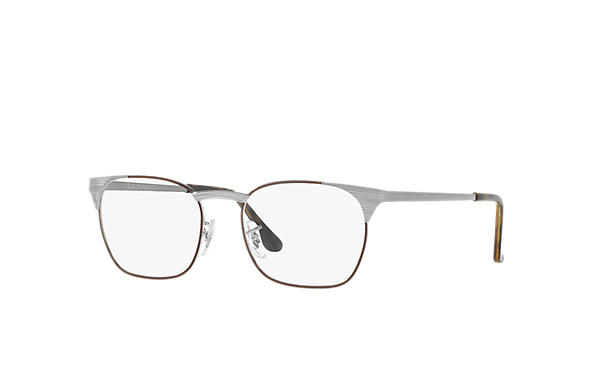 Ray-Ban 0RX6386-SIGNET OPTICS Brun; Blågrå OPTICAL
