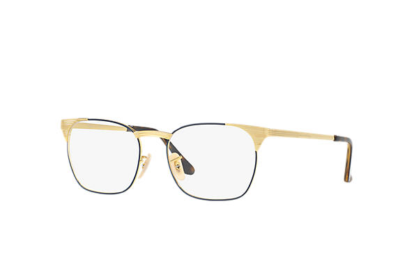 Ray-Ban 0RX6386-SIGNET OPTICS Blue; Gold OPTICAL