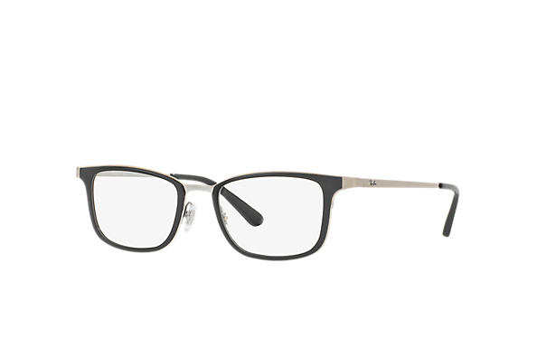 Ray-Ban 0RX6373M-RB6373M Black; Gunmetal OPTICAL