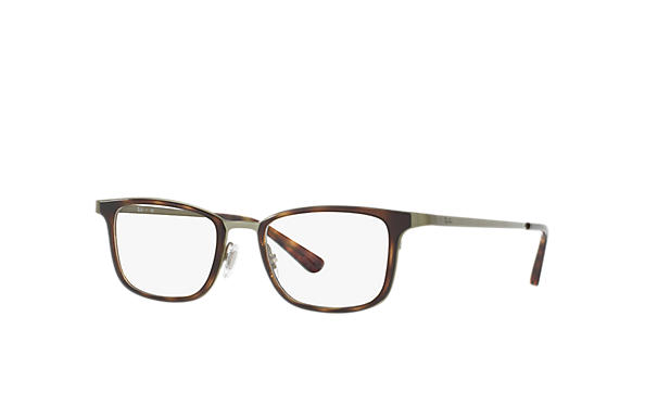 Ray-Ban 0RX6373M-RB6373M Havana; Grün OPTICAL