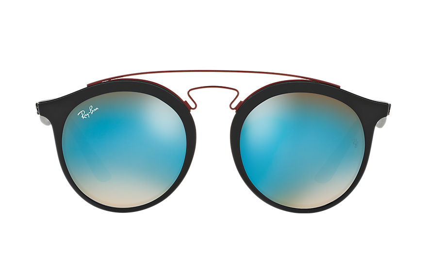 Ray-Ban Sunglasses RB4256 GATSBY I Black with Blue Gradient Flash lens