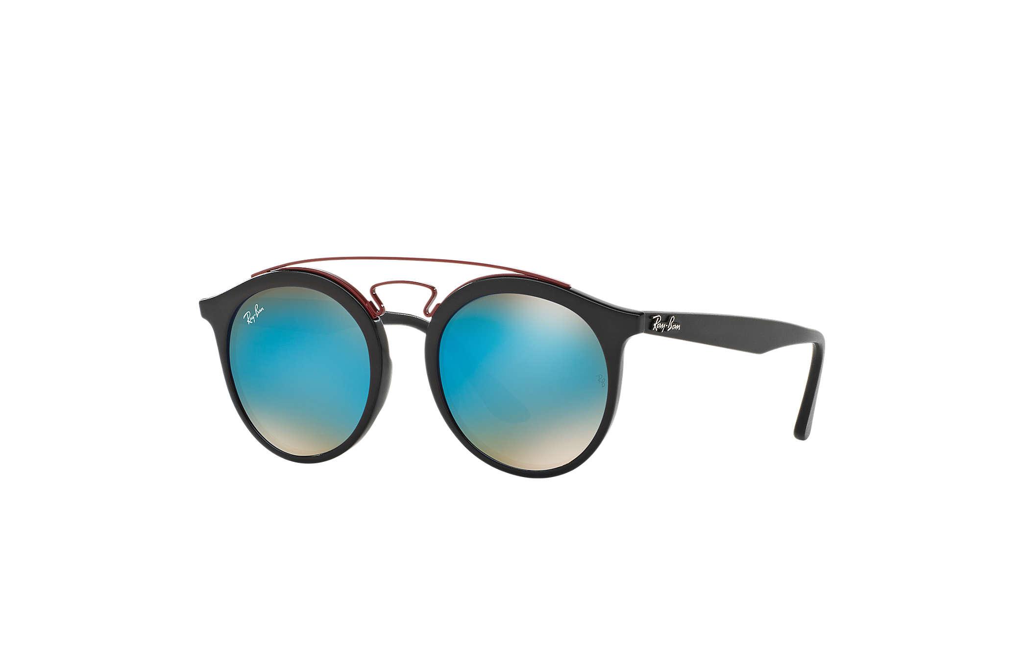 e7edf62add Ray-Ban Rb4256 Gatsby I RB4256 Black - Propionate - Blue Lenses ...