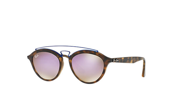 5231300c9d Ray-Ban Rb4257 Gatsby Ii RB4257 Tortoise - Propionate - Lilac Lenses ...