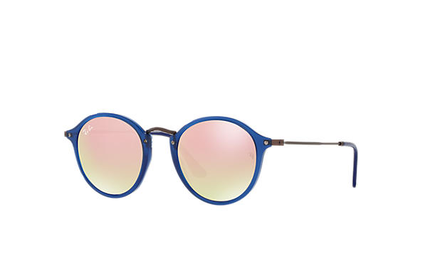 Ray-Ban 0RB2447N-RB2447N FLAT LENSES Bleu; Marron SUN