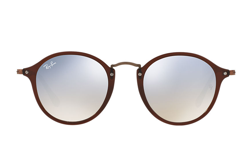 Ray-Ban		 Sunglasses RB2447N FLAT LENSES Brown met brillenglas Silver グラディエントフラッシュ